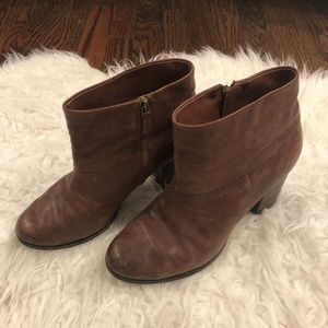 Cole Haan Nike Air Cassidy Bootie Browth Leather 8